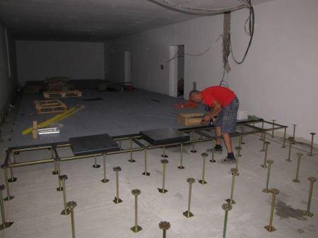 Pokládka zdvojené podlahy