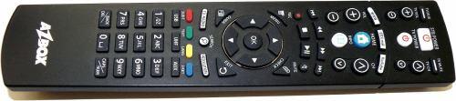 AZ Box HD Premium dálkové ovládání