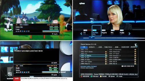 AZ Box HD Premium menu