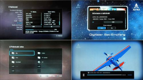 AZ Box HD Premium nahrávání