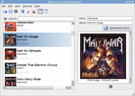 Album Cover Art Downloader