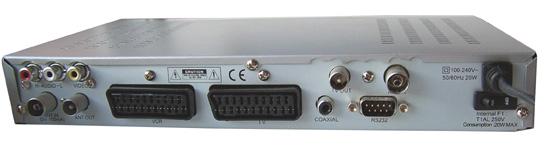 Allbox AL-35M zezadu