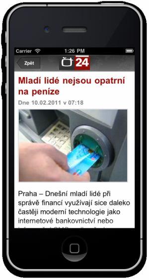 ČT 24 - iPhone - 3