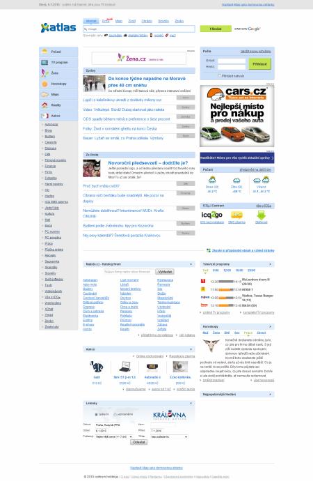 internetový listopad - Atlas 3