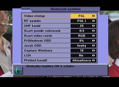 BigSat 6800 system