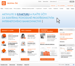 ČEZ - screenshot