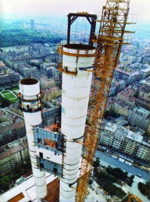 Výstavba věže Žižkov - archiv 4