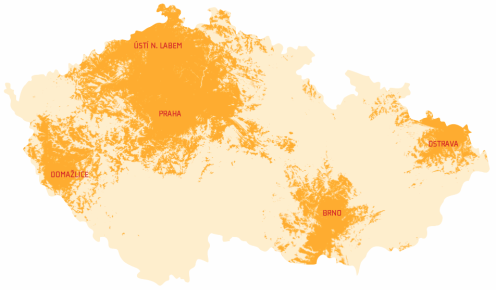 ČR mapa 1.7.2007
