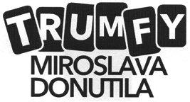 ČT 1 - logo Trumfy Miroslava Donutila