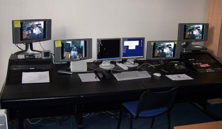 Kontrolní sekce Usability Labu v celé své kráse