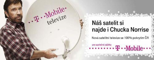 T-Mobile televize - reklama Chuck Norris