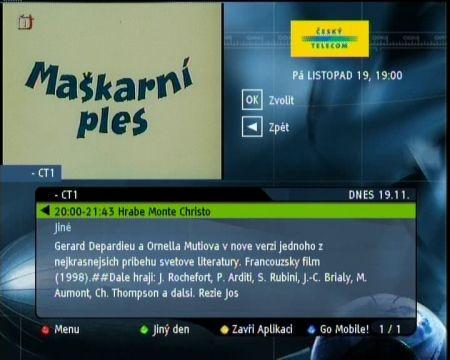 Zdroj: Prezentace ČTc pro novináře, 10.12.2004