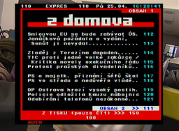 DI-WAY T-2200 teletext
