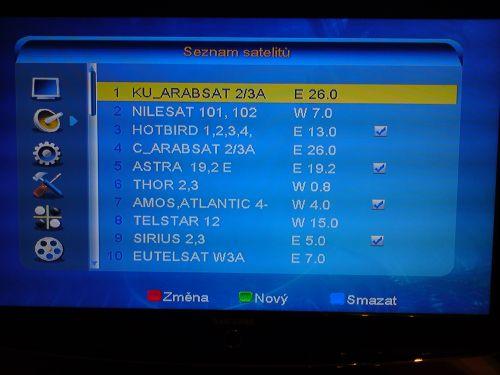 Comag SL100 HD instalace