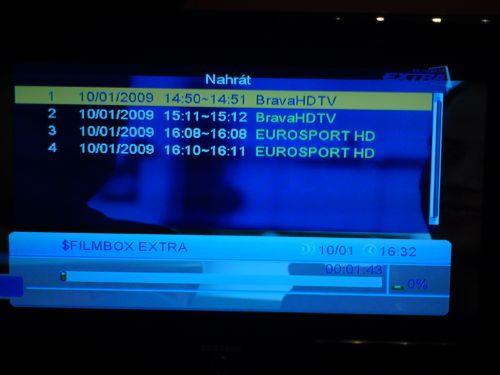 Comag SL100 HD kanály