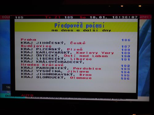 Comag SL100 HD teletext