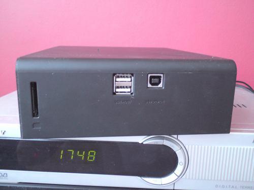 Evolve Mediacorder boční panel