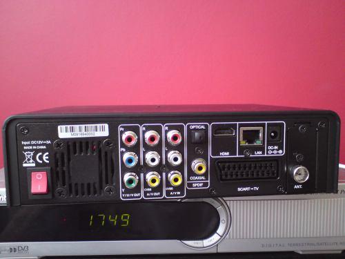Evolve Mediacorder zadní panel