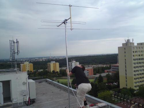 Výměna VKV antény - Kathrein ABH 01 - 15