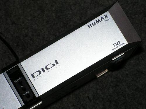 Digi TV - set-top-box Humax Digi+