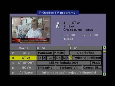 TVGo DVB-T31 EPG