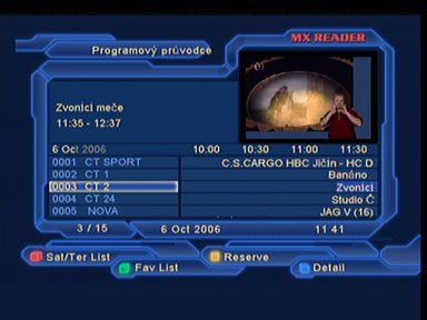 Optimum 800 EPG