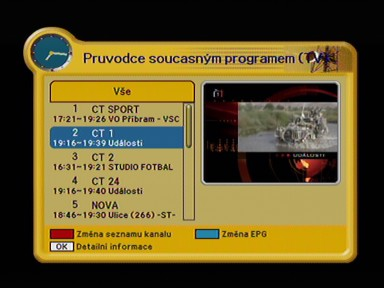 Kaon KTSC 570 EPG