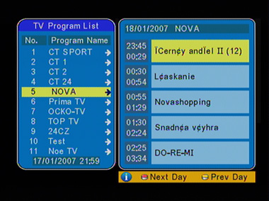 AVer Media STB7 EPG II