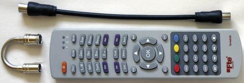 FTE PVR T250 - dálkové ovládání