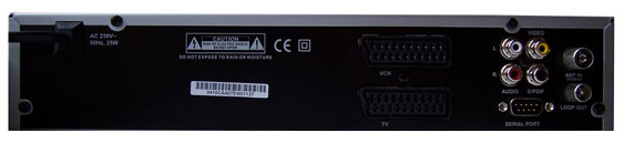 Finepass FTR-1000 DR zezadu