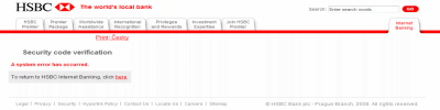 HSBC bad