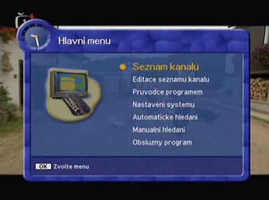 Kaon KTF-230 menu