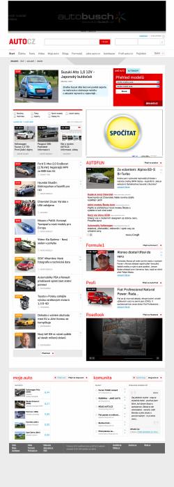 Vzhled Auto.cz 9/2010