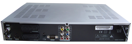 Homecast HT 5101 CO zezadu