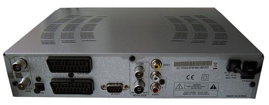Homecast T3000 zezadu