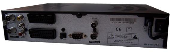 Homecast eM-1150 zezadu