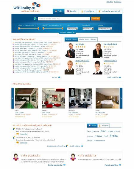 Wikireality - homepage