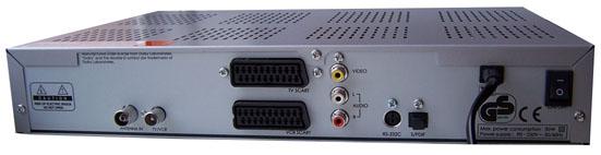 Humax PVR-8100T zezadu