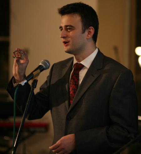 Křišťálová Lupa 2006 - Ján Simkanič s křišťálovou lupou