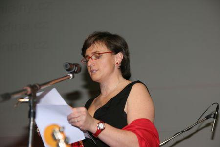 Křišťáloví Lupa - Kateřina Hrubešová