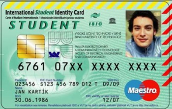 Studentska karta Komercni banky