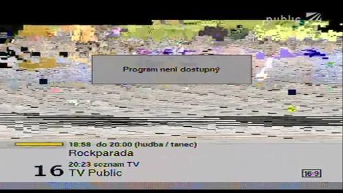 TV Public - konec vysílání v multiplexu 3