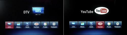 LG MS450H základní menu