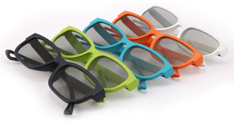 LG polarizační brýle model 2011