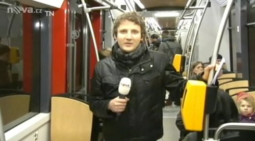 LiveU - vstup Televizní noviny 15.2.2011