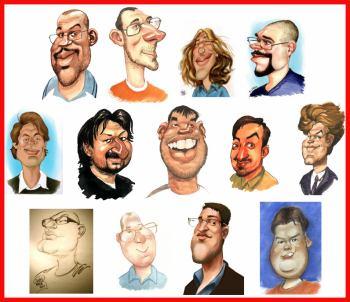 Karikatury glosatoru