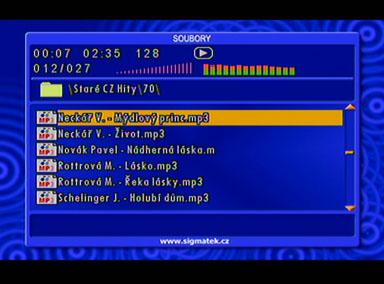 Sigmatek DVBX-120 MP3
