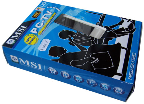 MSI Mega Sky 580 krabice