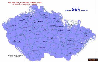 Mapa T-DAB Teleko 4