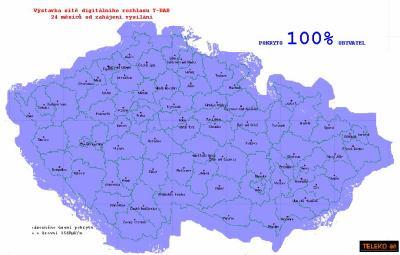 Mapa T-DAB Teleko 5